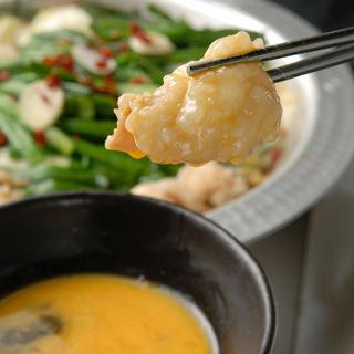 ホルモン焼ともつ鍋両方食べれるお手軽コースをご用意!