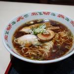 高社郷 - 「 高社麺 」 黒いスープが食欲をそそる