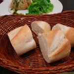 レストラン ラパン - パン
