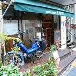 レストラン ラパン - 店前