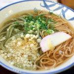 大島家 - 料理写真:かけ