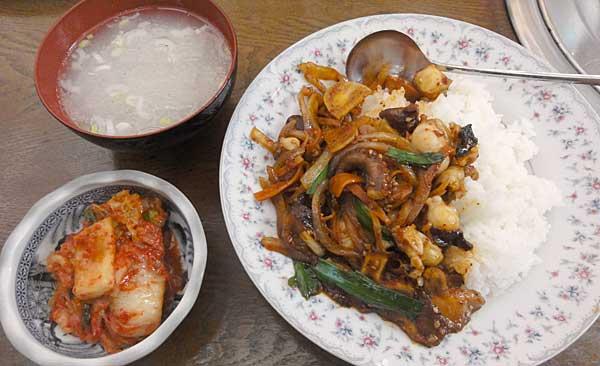 韓国家庭料理 アリラン