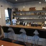 ツタヤ喫茶店 - カウンター席