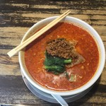 麺飯場 たんや - たんや特性担々麺-激辛-大盛