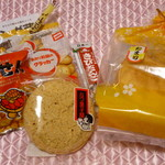 若喜商店 - 料理写真:買ったお菓子類w