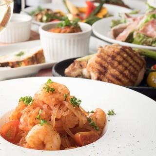生牡蠣食べ放題&イタリアで人気のZENパスタもございます♪