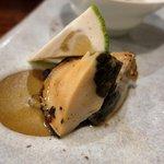 握り心 山ぼうし - ミル貝の肝焼き