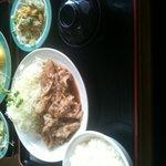 とんかつ ゆう - 豚生姜焼き定食