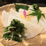 鉄板焼と和食 宴 - 蕪の千枚漬け(11月のお勧め)