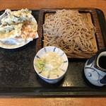 川野屋本家 - 料理写真:大盛り蕎麦・野菜天