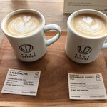 NOZY COFFEE - カプチーノとラテ
