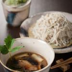 鉄板焼と和食 宴 - 【深夜蕎麦】人気の鴨せいろ