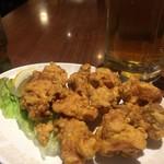 美叙飯店 - 唐揚げ…、ボリューミィー、小ぶりで食べやすい…