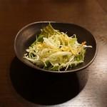 グリル デミ - セットのサラダ