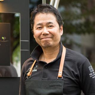 """都志見セイジ氏(ツシミセイジ)―""""日本の大地の料理"""""""