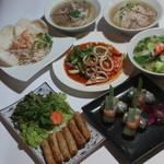 サイゴン・レストラン - 2700円コース