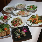 サイゴン・レストラン - 3200円コース