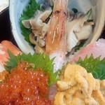 76017648 - 「北海大漁丼」(4200円)