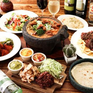 本場メキシコの味を楽しめる本格派メキシカンバル♪
