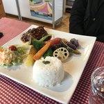 Lunch&cafe 風 - ハンバーグプレート