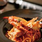 libra - 渡り蟹の濃厚トマトクリームパスタ