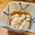 晩杯屋 - カキ酢 250円