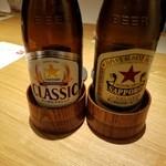 四季会席 香桜凛 - ビール飲み比べ♥