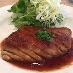 マグロ ビストロ ワーフ - ハラモのステーキ