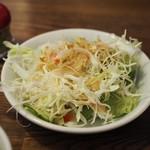 ステーキ食堂 Ogawa - サラダアップ