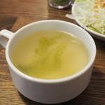 ステーキ食堂 Ogawa - スープアップ