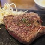 ステーキ食堂 Ogawa - 黒毛和牛ステーキアップその2