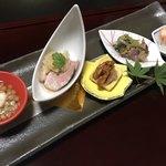 仙郷楼 - 前菜