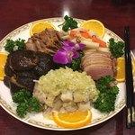 隆蓮 - 前菜盛り合わせ