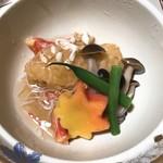 仙郷楼 - 煮物 皮剥豊年饅頭