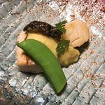 仙郷楼 - 焼物 秋鮭帆立の栗風味