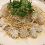 隆蓮 - イカのネギ生姜仕立て