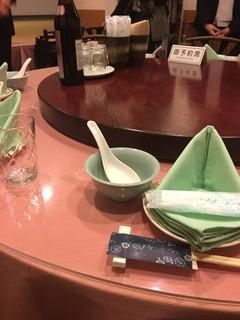 隆蓮 - 店内テーブル
