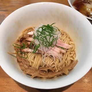 ラーメン屋 トイ・ボックス - 料理写真:「鶏油そば(汁わんたん付)」900円