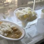 天覧台 スペース・ホワイト・カフェ - 料理写真: