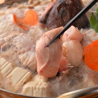 痛風覚悟の極上鍋!あんこう・白子・牡蠣・カニ!魚好き集まれー