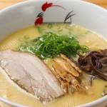麺屋 丸鶏庵 - 鶏白湯塩