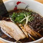 麺屋 丸鶏庵 - 醤油