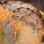 麺場 田所商店 - 九州麦み味噌味噌漬け炙りチャーシュー麺(煮玉子+肉ネギ)
