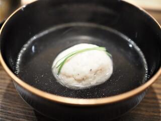 虎白 - お椀  金目鯛の真丈