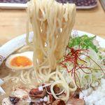 76032261 - 20171106醤油ちゃーしゅー麺・麺リフト