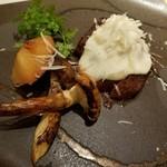 四季会席 香桜凛 - 純白の雲肉と松茸焼