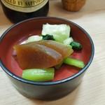 うなぎ 色川 - 今時珍しい「奈良漬け」
