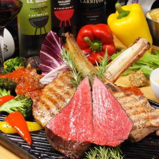 美味しいお肉とチーズのをおなか一杯!贅沢忘新年会コース!