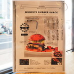 MUNCH'S BURGER STAND - 説明