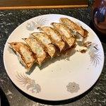らーめんてい立花 - 餃子一人前(¥270) かつて麺類以上に気に入っていたのがこの餃子!相変わらず良い味だ。先代のおやじさんから代替わりしてもこの味を守ってくれていてうれしい。